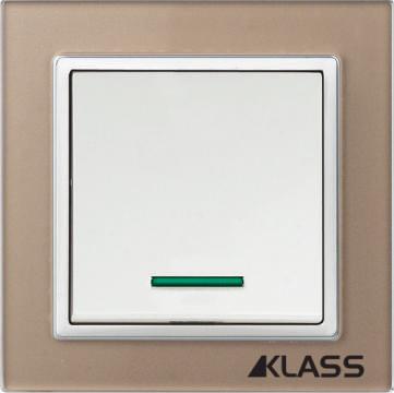 Aparataj LUX L-klass chm/3901- Intrerupator led