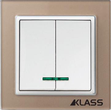 Aparataj LUX L-klass chm/3903 – Comutator led