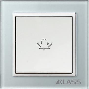 Aparataj LUX L-klass grey/3908 – Buton sonerie