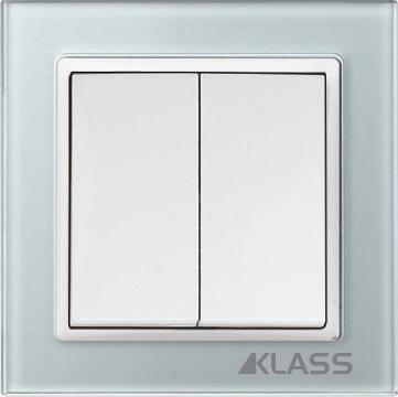 Aparataj LUX L-klass grey/3932 – Comutator cap scara