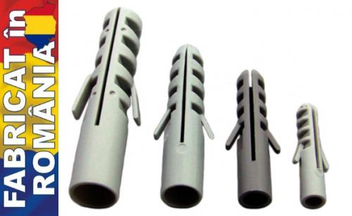 Accesorii pt fixare Diblu polipropilena  6mm – rotund ( 100buc)