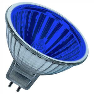 Becuri halogen BEC HALOGEN MR16  230v/20w  Blue
