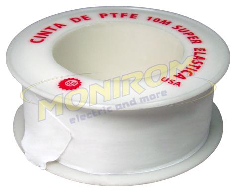 Scule & accesorii Banda teflon 10m x 19mm x 0,075mm (super elastica)