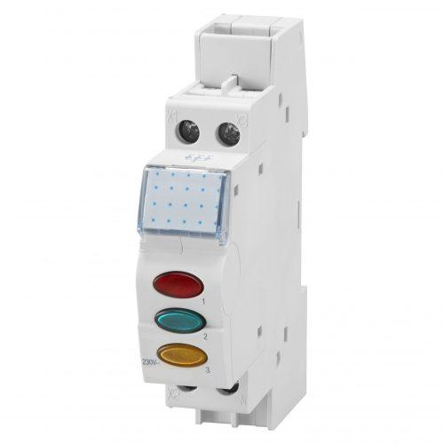 Tablouri electrice Klass – Lampa semnalizare sina 3 faze – R/V/G