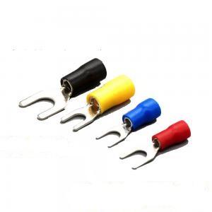 Accesorii instalatia electrica Papuci furca  SV 1,25-3mm / 0,5-1,5mm M4m  (100buc)