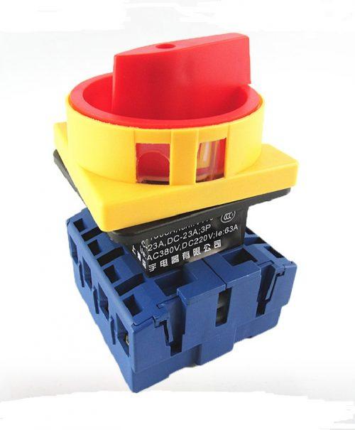 Tablouri electrice Intrerupator rotativ  JYD11 32A/3P/0-1