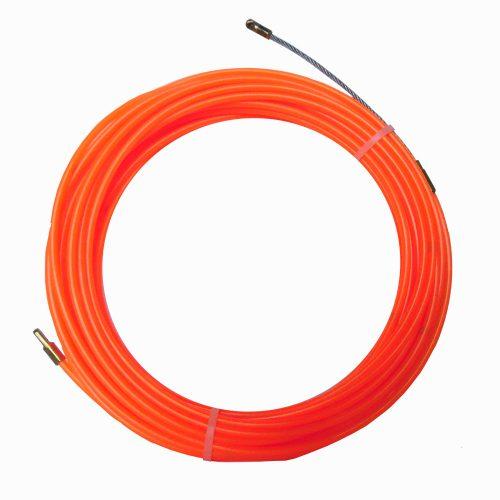 Scule & accesorii Sarma tras cablu  25m/4mm – Nylon orange