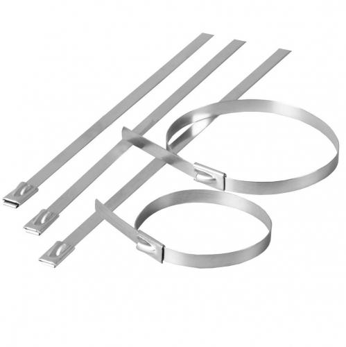 Accesorii pt fixare Colier cablu inox  7,9×400 – (20buc)