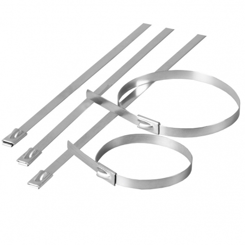Accesorii pt fixare Colier cablu inox  7,9×500 – (20buc)