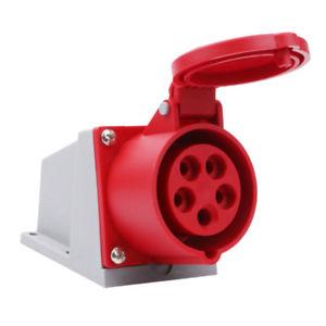 Aparataj industrial Priza industriala 5P/32A/380v – aplicata (Klass – 125k)