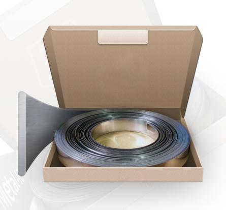 Accesorii pt fixare BANDA INOX  19mm x 0,7  (30m/rola)