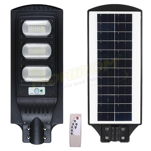 Corp Stradal Solar Led 90w 6400k Plastic Telecomanda Tv 0 25ron Monirom