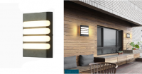 LED - Iluminat exterior Fomsi – Lampa BAT LED 0013BD – 24w/6400k/alb  *TV 0,25ron