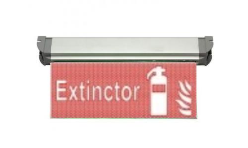 Corp iluminat urgenta - EXIT Atra 3125 – Lampa EXIT Led (extinctor)  *TV 0,30ron
