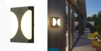 LED - Iluminat exterior Fomsi – Lampa BAT LED 0014BD – 24w/6400k/negru  *TV 0,25ron