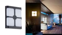 LED - Iluminat exterior Fomsi – Lampa BAT LED 0015BD – 24w/6400k/negru  *TV 0,25ron