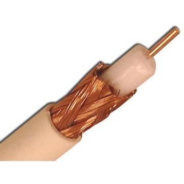 Cabluri voce & date Cablu coaxial romanesc 75ohm (TCC2YY-I 1×0,6) – Cu/Cu