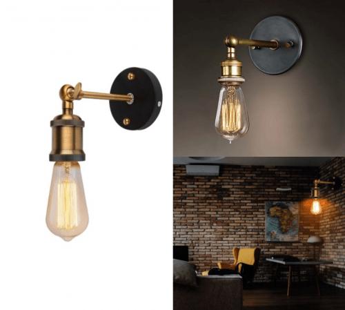 Corp iluminat interior Vintage – Aplica metalica 1xE27 / 3198