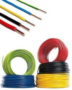 Cabluri electrice CONDUCTOR FY  4mm – Rosu (rigid/unifilar) / H07V-U