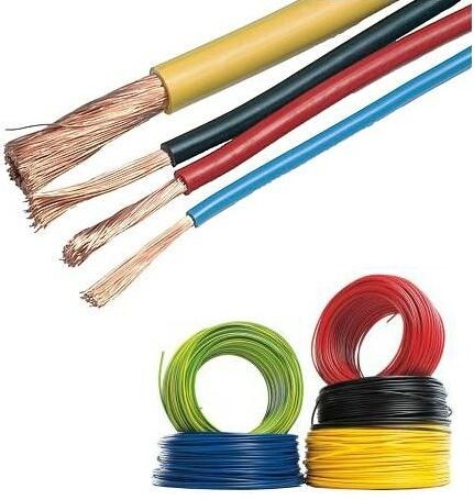 Cabluri electrice CONDUCTOR MYF  6mm – Rosu (flexibil/multifilar) / H07V-K