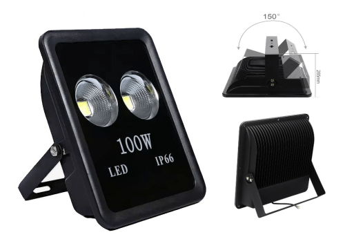 LED - proiectoare Proiector  LED  100w (2x50w) 6400k  *TV 0,25ron