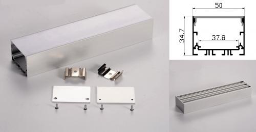 LED - banda & accesorii Profil led aluminiu PXG-5035M/1 – aplicat/1m